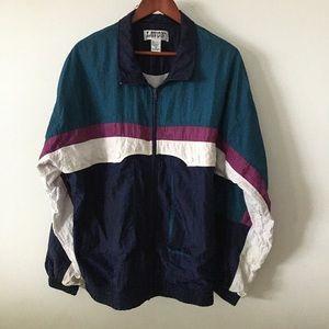 Men's Vintage Windbreaker Jacket Sz L